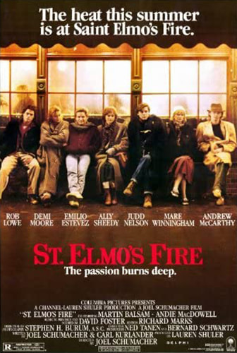 St. Elmo's Fire Movie Poster
