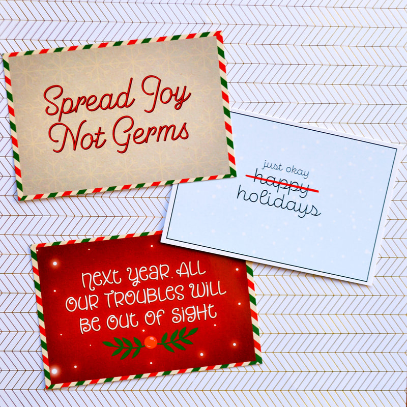 2020 Pandemic Themed Holiday Cards